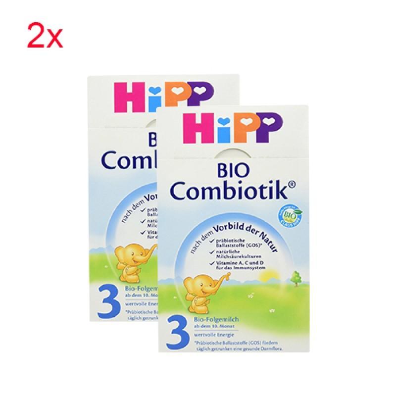【德国DC】【2盒特惠装】Hipp 喜宝 Combiotik 有机配方奶粉3段 600g x2盒