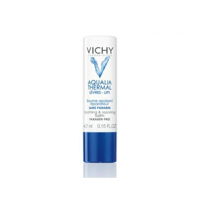 【邮费特惠+8折优惠】Vichy Aqualia 薇姿温泉矿物舒缓修复润唇膏 4.7ml