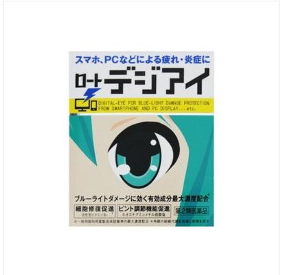 【多庆屋】rohto 乐敦制药乐敦缓解眼疲滴眼液12ml