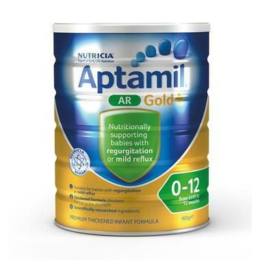 Aptamil 澳洲爱他美 金装婴幼儿配方奶粉 防吐型(1-2段)0-12月 900g