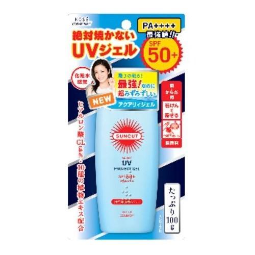 【多庆屋】高丝 SUNCUT清爽水感防晒霜 SPF50+ PA+ 100g