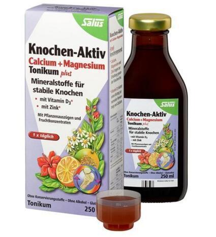 【德国BA】Salus 青少年/成人钙镁锌+维生素D补钙骨原果蔬营养液250g 满78欧免邮