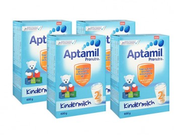 【德国DC】【4盒特惠装】Aptamil 爱他美 超市版 婴幼儿配方营养奶粉 2+ 2岁及以上 600g4盒