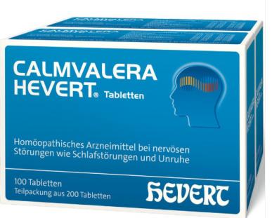 【德国DC】Calmvalera Hevert 成人安神助眠片 2盒100片