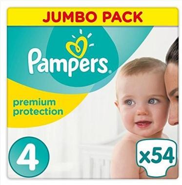 【德国DC】Pampers 帮宝适 宝宝大号尿不湿纸尿片纸尿裤 4号大小