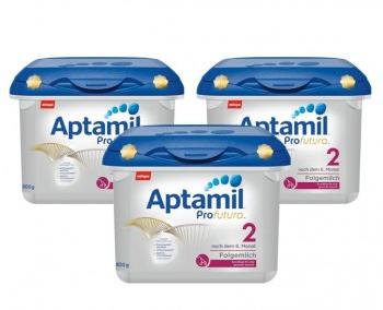 【德国DC】【3盒特惠装包邮】Aptamil 爱他美 Profutura 白金版婴幼儿配方奶粉 2段