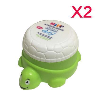 【德国BA】HIPP喜宝有机杏仁油儿童婴儿保湿面霜小乌龟100ml 2只装 满78欧免邮