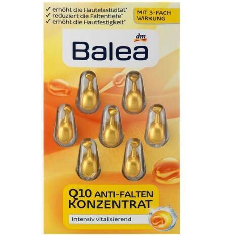【德国BA】Balea 芭乐雅 辅酶Q10人参维E紧致提拉抗皱细纹精华胶囊 7粒 满78欧免邮