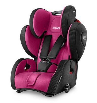 【德国BA】RECARO 超级大黄蜂车载儿童安全座椅 玫粉色 9个月-12岁 安全座椅全场9折包邮
