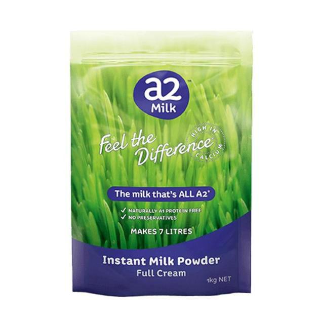 a2 高钙全脂奶粉 学生/成人/中老年人 1kg  (全场满89澳,运费一口价4澳)