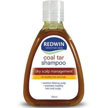 Redwin 煤焦油洗发水 250ml(去屑止痒) (全场满89澳,运费一口价4澳)
