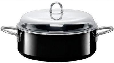 【德国EM】Silit喜力特 希拉钢多功能圆形炖锅 焖锅 焙烧锅 28cm