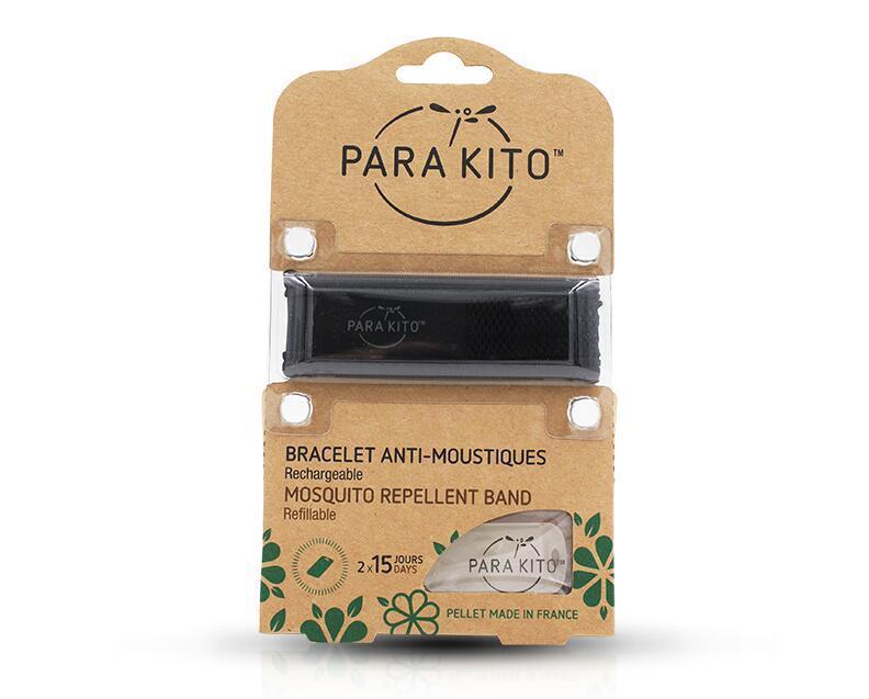 【包邮装】Para& 039Kito 帕洛 天然驱蚊手环 黑色  活动券后价:95元