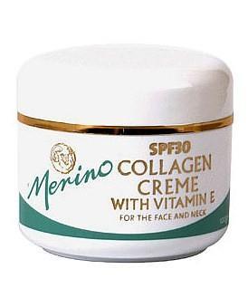 Merino 美丽诺 胶原蛋白面霜(SPF30+) 100g(含维E 防晒)