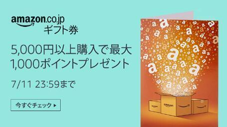 日亚prime day会员日购买5000円优惠券 最高可返1000日亚积分点
