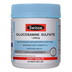 Swisse 维骨力 氨基酸葡萄糖胶囊 1500mg 180粒(缓和关节炎)