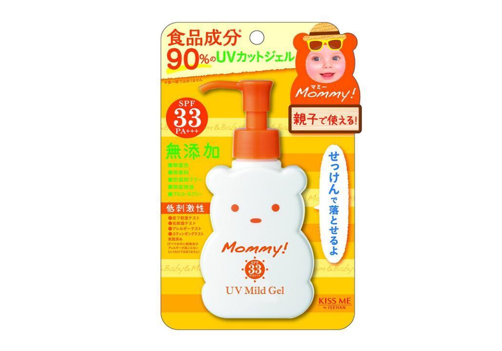 KISS ME Mommy!小熊温和无添加婴儿防晒SPF30 孕妇可用   JP¥ 745 (约人民币:46 19元)