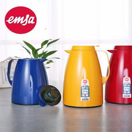 Emsa 爱慕莎 Basic系列 大容量恒久保温壶 玻璃内胆 1 5L 8折好价€23 16,凑单满78欧免邮到手约178元