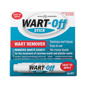 Wart Off 特效祛疣膏 5g (深层杀菌抗病毒去腐生肌)