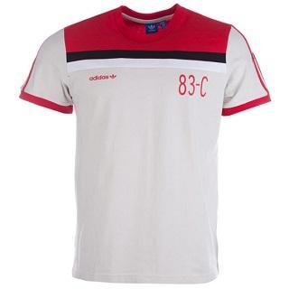 【新人专享福利】adidas Originals男士嵌袖复古T恤,6 9折报价£22 99(约¥200)
