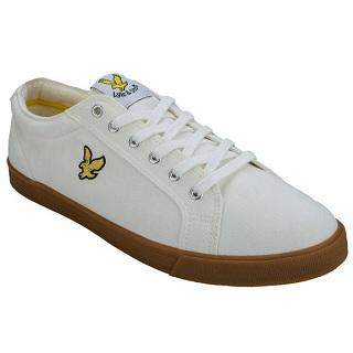 【新人专享福利】英国高端大黄鹰男士低帮系带帆布鞋,4 8折报价£22 99(约¥200)