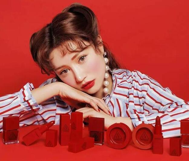 韩国3CE新品口红、腮红全试色!
