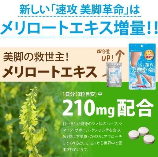 速攻 美脚革命 美腿消除下半身肥胖 增量版 33日 返点好价1466日元,约¥88
