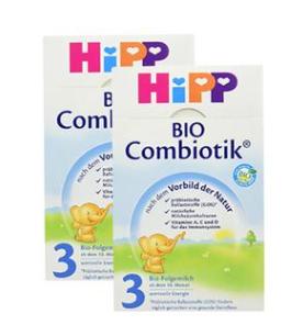 【德国DC】【2盒特惠装】Hipp 喜宝 Combiotik 有机配方奶粉3段 600g x2盒 10月+