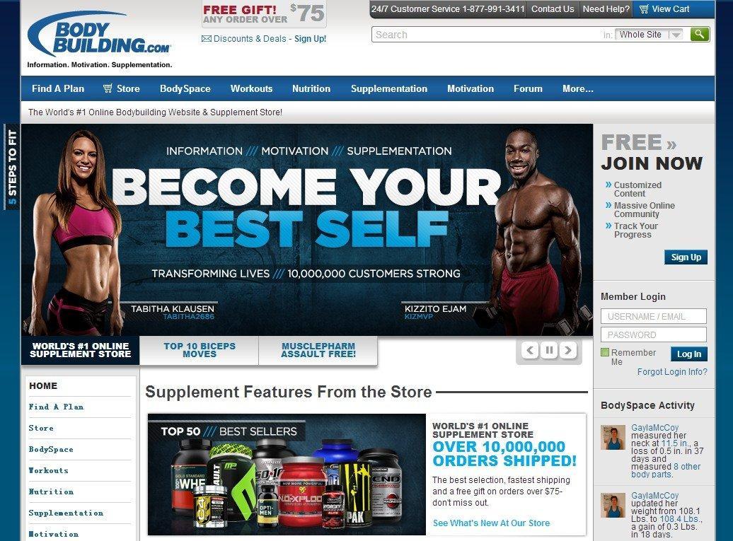 BodyBuilding海淘 美国健身网站BodyBuilding介绍