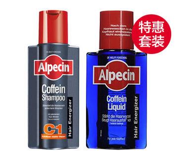 【德国DC】超值组合装 | Alpecin 阿佩辛 咖啡因防脱生发洗发水+营养液