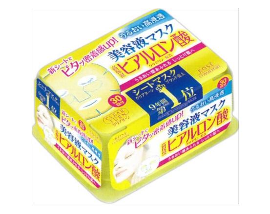kose cosmeport 高丝 美容液保湿面膜(透明质酸保湿) 30片