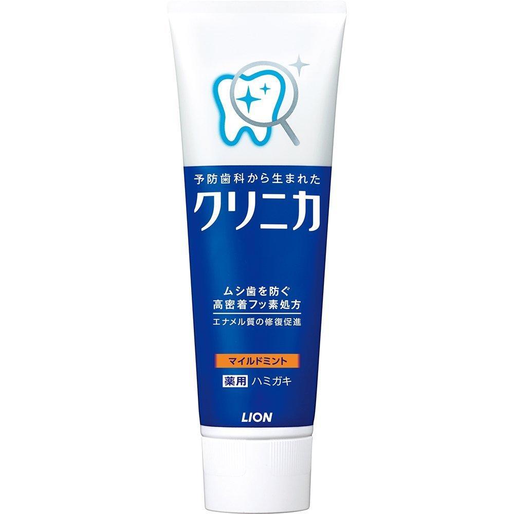 lion 狮王ライオン 酵素除牙垢美白护齿牙膏 温和薄荷型 130g  折扣价格:JP¥ 228(约人民币:14 14)