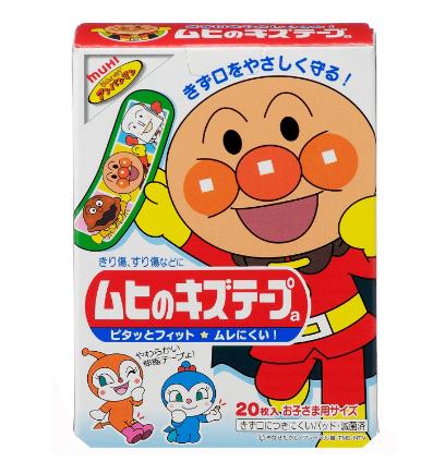 池田模范堂无比帖 面包超人卡通创可贴 20枚