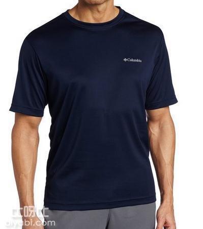 多色可选:Columbia 哥伦比亚 男士速干防晒短袖T恤衫