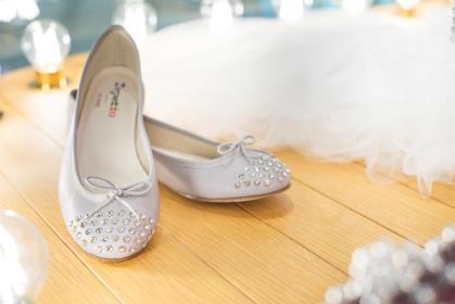 Repetto70周年特别版水晶芭蕾舞平底鞋 闪亮仲夏