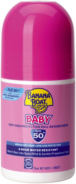 Banana Boat 香蕉船 婴儿滚珠型防晒霜 75ml(SPF 50+)