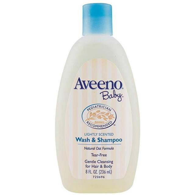 Aveeno 艾维诺 纯天然燕麦婴儿专用身体洗发水(两用) 236ml
