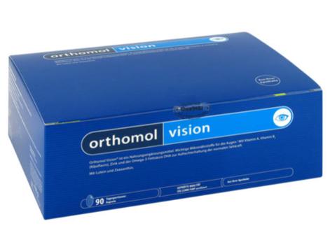 【德国DC】【(用码ALP99)立减8欧包邮到手】ORTHOMOL 奥适宝 护眼营养素胶囊 90粒