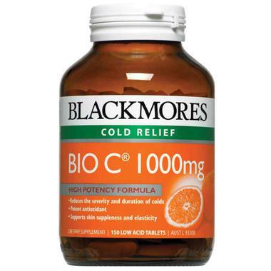 Blackmores 澳佳宝 1000mg维生素C片 150片(改善贫血)