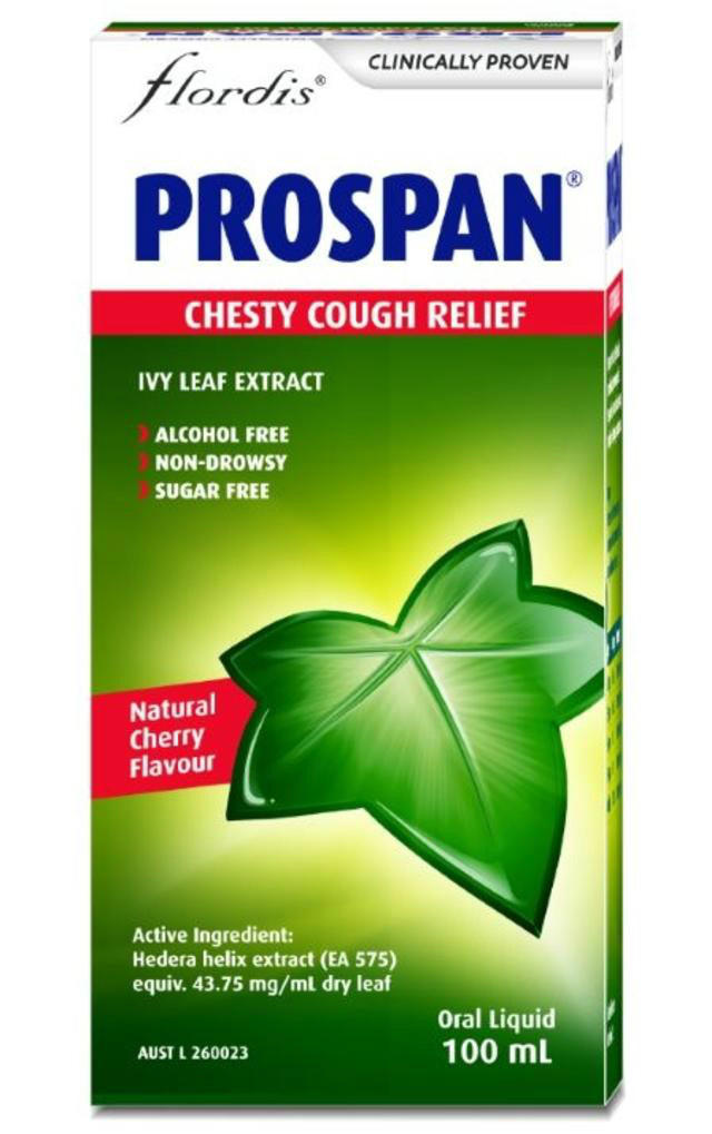 Prospan 小绿叶 常春藤糖浆 100ml (儿童 成人适用)