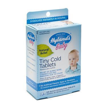【美国Babyhaven】Hyland& 039s 儿童婴幼儿感冒片 - 125片