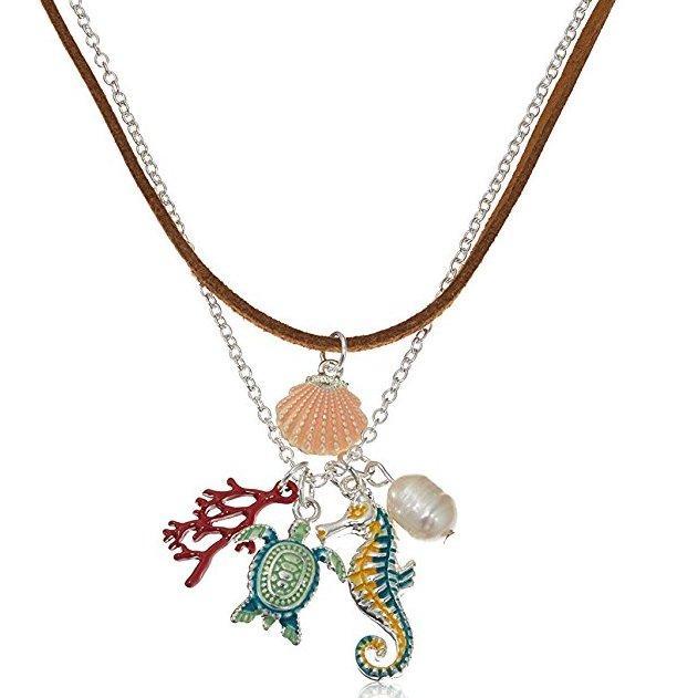 Amazon Collection 女士 pendant-necklaces 多垂饰项链 prime会员凑单直邮到手约76元