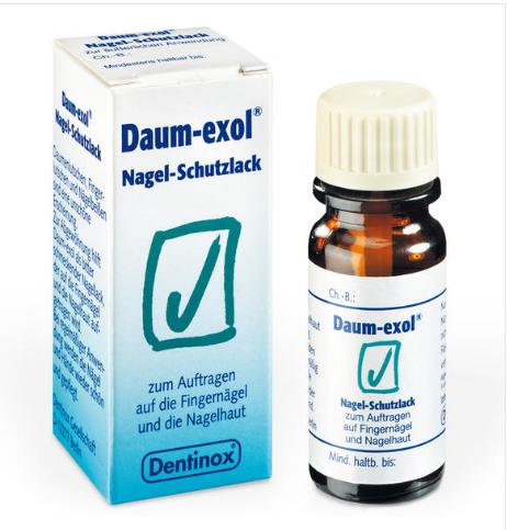 【德国BA】Daum Exol 防吸吮手指苦甲水 防咬手 幼儿指甲保护油 10ml 适合2岁以上