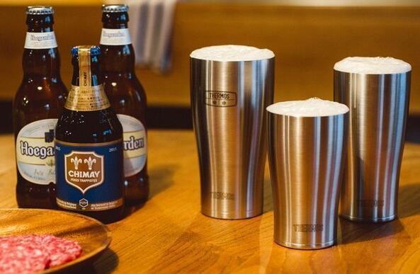 周五满额免邮!THERMOS 膳魔师 JDE-420 不锈钢保温保冷杯 420ml 补货特价1424日元,约¥87