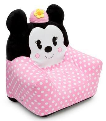 DELTA迪士尼米妮图案 儿童绒布充气沙发 售价$29 99,约199元,满$50包邮包税+$3无门槛券