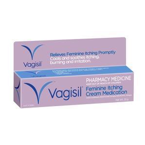 【全场满99澳免邮 满118澳再减10澳】Vagisil 私处止痒膏 25g(止痒、滋润、防病菌、除异味 )
