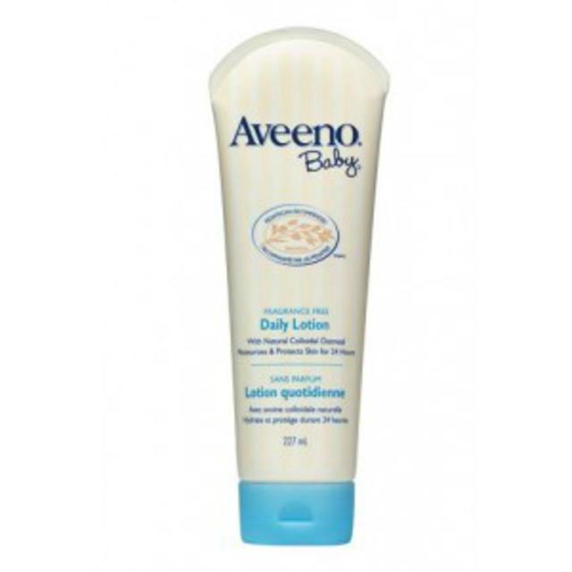 Aveeno 艾维诺纯天然燕麦精华婴儿专用无香型保湿润肤乳 227g