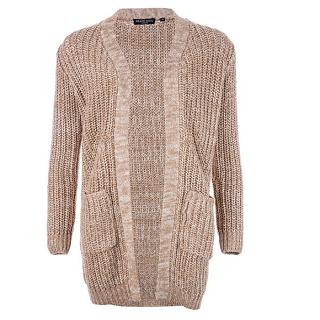 【七夕情人节,品牌专场】Brave Soul 女士针织毛衣开衫,5 7折报价为£19 99(约¥128)
