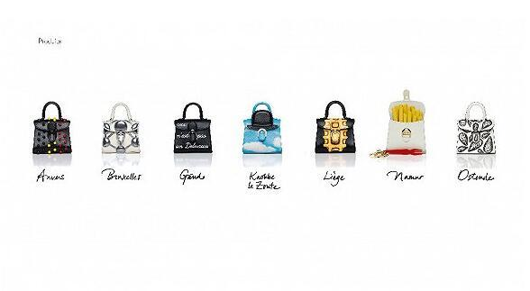 DELVAUX推出Miniatures Belgitude系列袖珍手袋