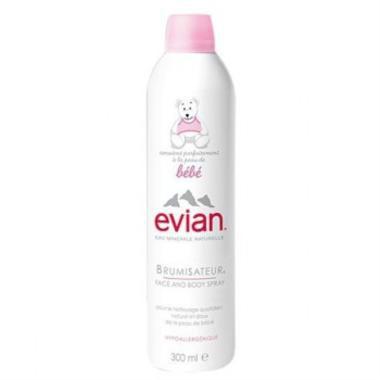 法国直邮Evian依云婴儿矿泉水喷雾大喷300ml 温和补水